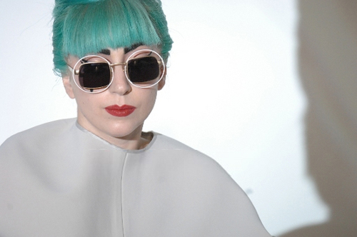 Lady Gaga Press Conference in Singapore