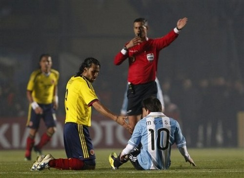 Lionel Messi (Argentina - Colombia)