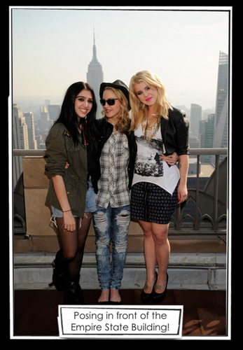 Lourdes Ciccone Leon wallpaper probably containing bare legs, a hip boot, and hot pants entitled Lola MG with Kelly