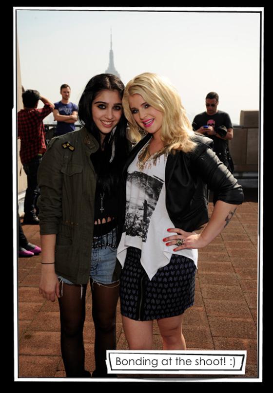 Lola MG with Kelly