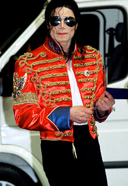 MJ rocking the Military