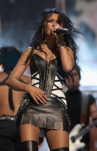 MTV VMA's - Performing Dirrty 2003