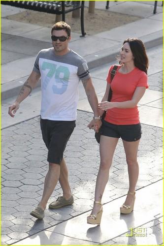 Megan volpe & Brian Austin Green: Promenade Pair