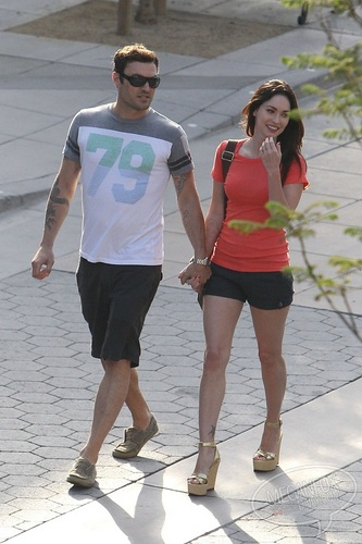 Megan - Taking a walk with Brian Austin Green in Santa Monica, CA - July 07, 2011