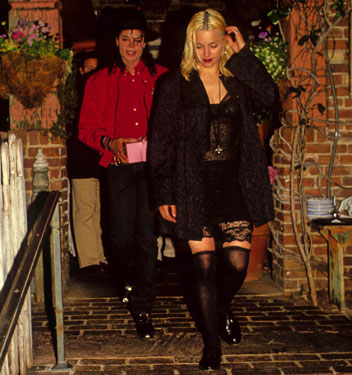 Michael Jackson & Мадонна <3