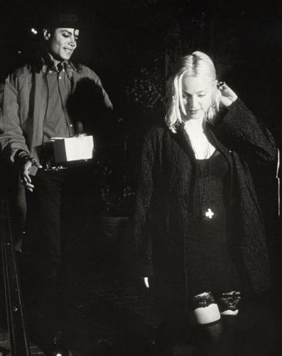 Michael Jackson & Madonna <3
