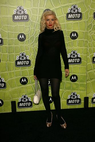 Motorola's 8th Anniversary Party In Hollywood - Arriving 02 11 2006