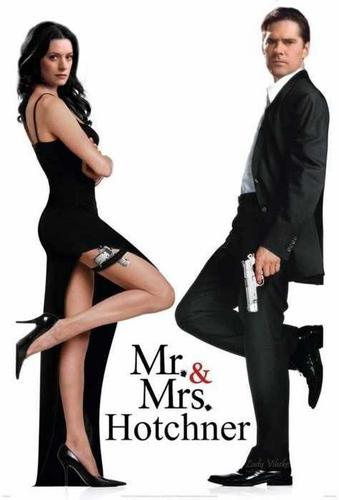 Hotch & Emily 壁纸 containing a well dressed person and a business suit titled Mr & Mrs Hotchner