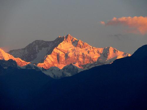 Mt kanchendzonga