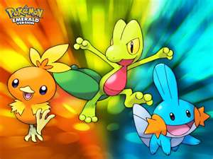 Starter Pokemon Club Images My Drawing Of The Hoenn Starters Wallpaper And Background Photos