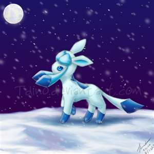 My Shiny Glaceon Drawing