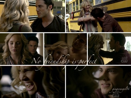 No friendship is perfect montage (tension between tyler and caroline)