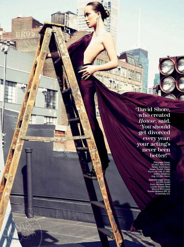 Olivia Wilde in the August 2011 Issue of Marie Claire Magazine
