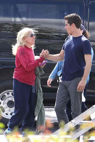 "On the Set of ""The First Time""- May 18, 2011"