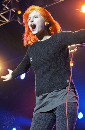 Paramore at Rock For People Festival, Czech Republic, 3.7.2011