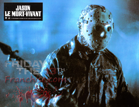 Friday the 13th wallpaper containing a concert and a guitarist called Part 6 Lobby Card