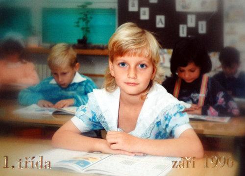 Petra Kvitova as child