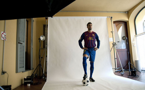 Pique in add for SkySports