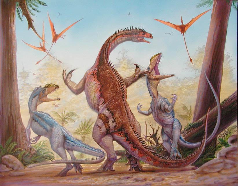 Plateosaurus vs Liliensternus