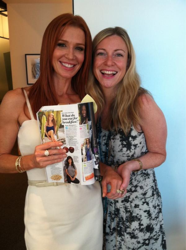 Poppy Montgomery meets with Self Magazine (7/8/11)