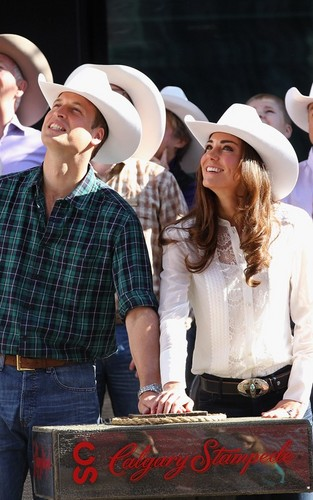 Prince William & Kate Middleton: Calgary Stampede Craziness