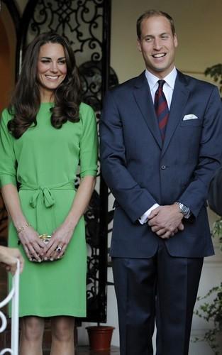 Prince William & Kate's British Consul-General Reception