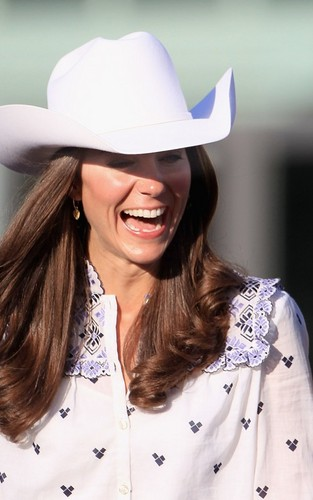 Prince William & Kate's Chuckwagon Race Welcome