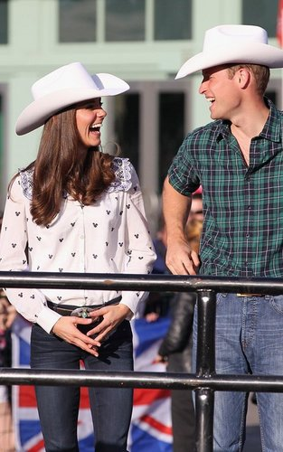 Prince William & Kate's Chuckwagon Race Welcome