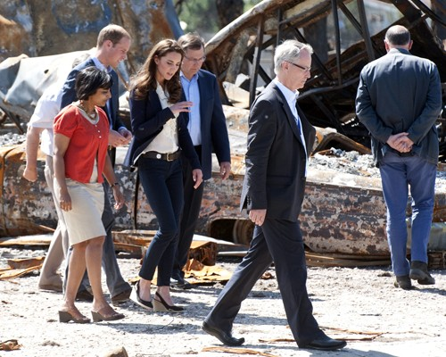 Prince William & Kate's Sobering Visit to Slave Lake