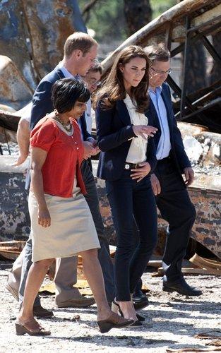 Prince William & Kate's Sobering Visit to Slave Lake