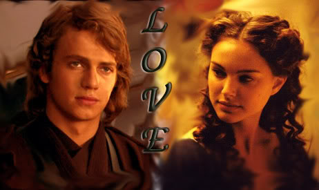 Zufällig Anakin and Padme