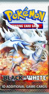 Reshiram Booster Pack Cover
