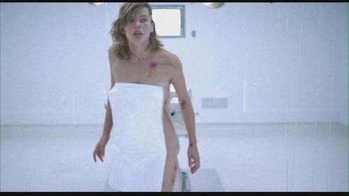 Milla Jovovich karatasi la kupamba ukuta titled Resident Evil