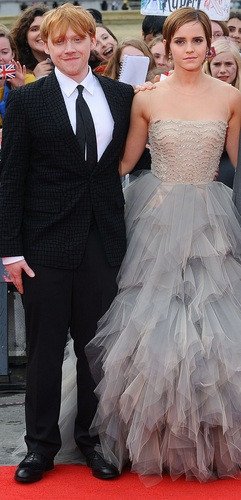 Romione at Deathly Hallows part II Londres Premiere LOOK LIKE WEDDING ;D
