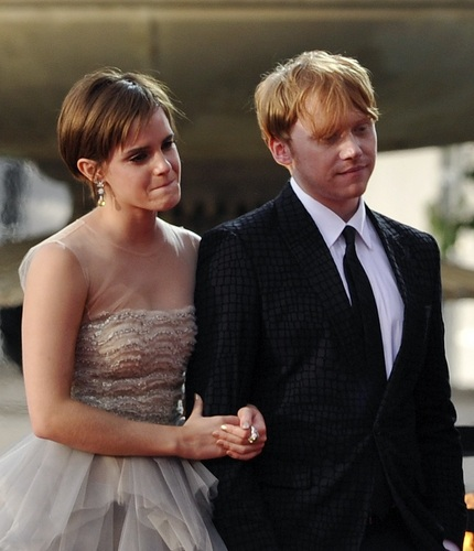 Romione at Deathly Hallows part II London Premiere LOOK LIKE WEDDING ;D