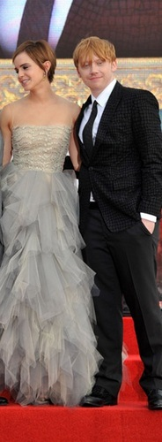 Romione at Deathly Hallows part II Londra Premiere