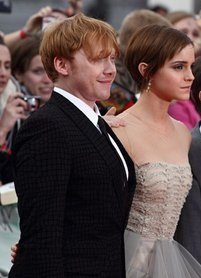रमिअनी at Deathly Hallows part II लंडन Premiere