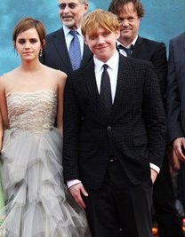 romione at Deathly Hallows part II Londres Premiere