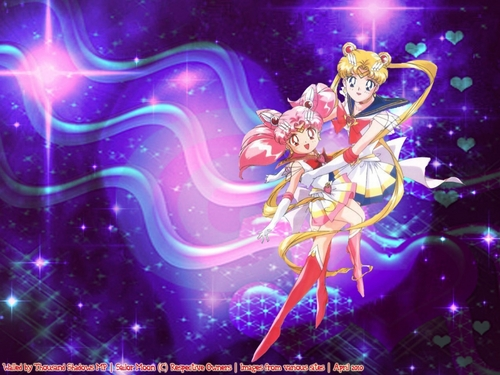 sailor moon fondo de pantalla called Sailor Moon & Chibiusa