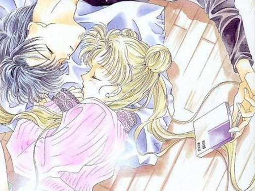 Sailor Moon & Mamoru