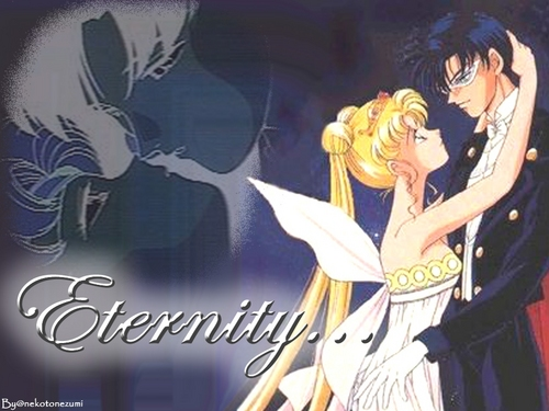 Sailor Moon &amp; Mamoru - sailor-moon Wallpaper
