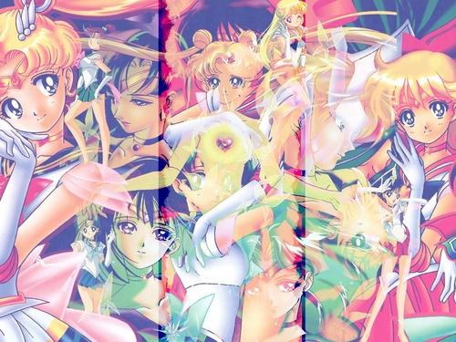 Sailor Moon wallpaper titled Sailor Senshi