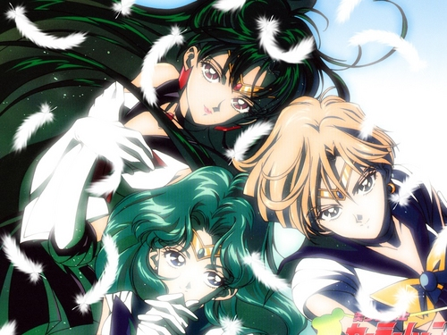 Sailor Moon Hintergrund containing Anime titled Sailor Senshi