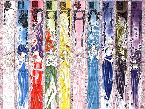 Sailor Moon پیپر وال called Sailor Senshi