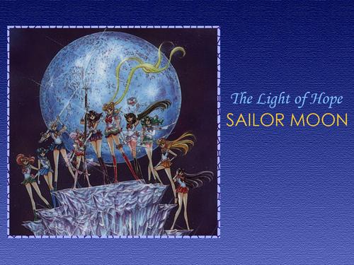Sailor Moon karatasi la kupamba ukuta containing anime entitled Sailor Senshi