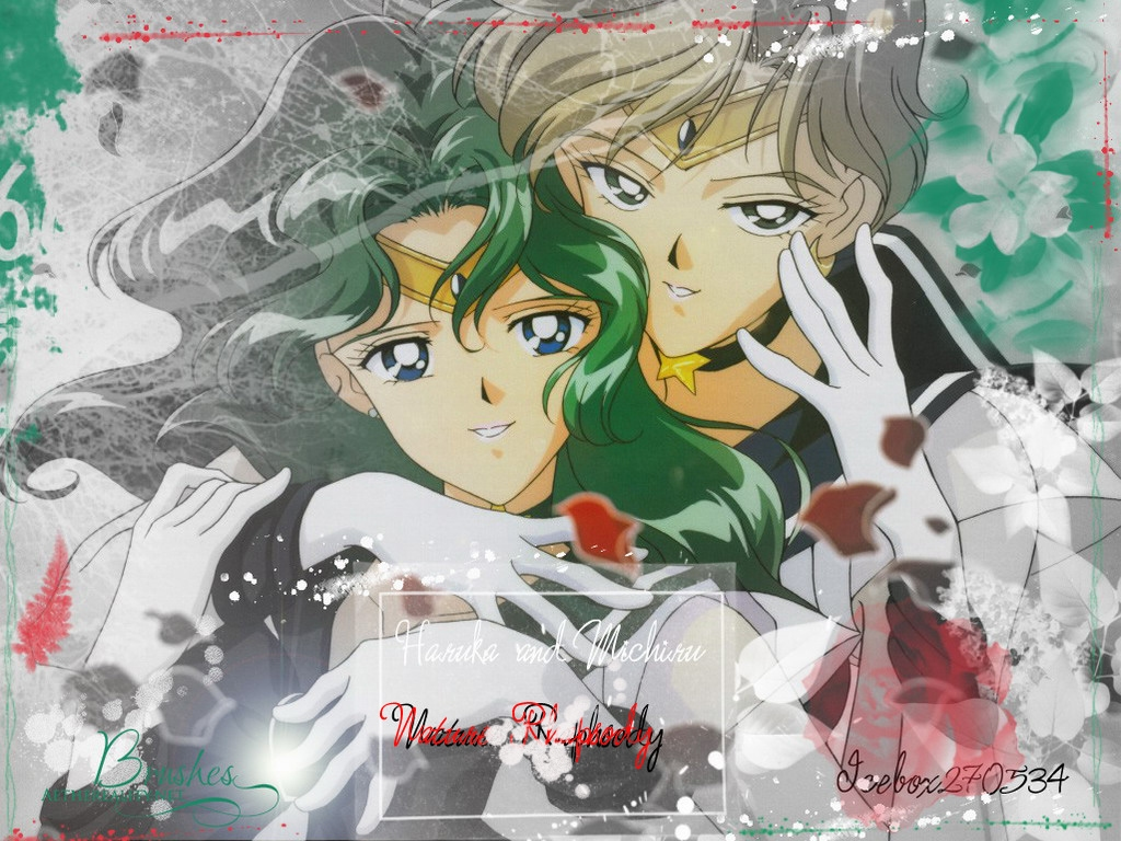 Sailor Uranus & Sailor Neptune