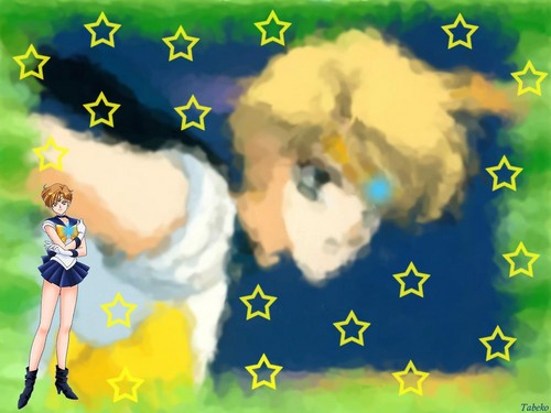 Sailor Moon Hintergrund entitled Sailor Uranus