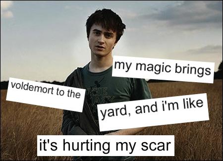 Scar hurts