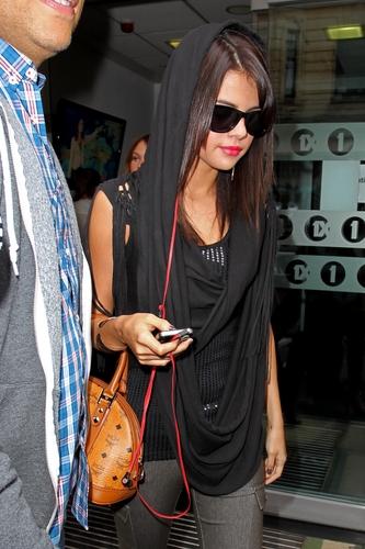 Selena - Leaving BBC Radio 1 Studios - July 07, 2011