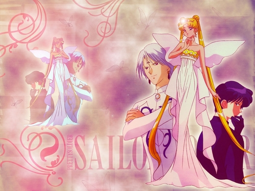 Sailor Moon Hintergrund possibly containing Anime entitled Serenity